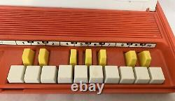 Vintage 1971 General Electric Tote-A-Tone Mono Analog Synthesizer and Adapter