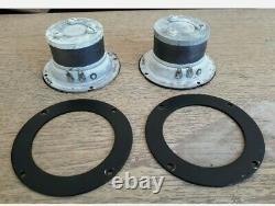 Vintage Ampex Bullet Tweeters Speakers Pair General Electric G-504 GE