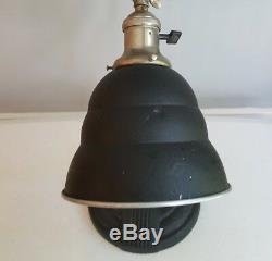 Vintage Art Deco General Electric Desk Lamp Industrial Steampunk