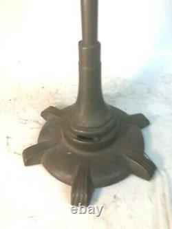 Vintage Art Deco General Electric Vortalex Floor Stand Oscillating Fan FM12M11