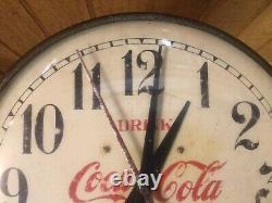 Vintage Coca-Cola Clock General Electric