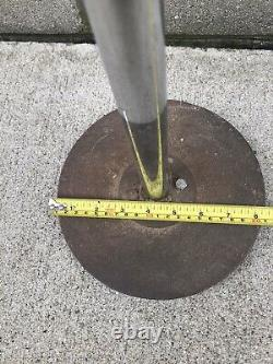 Vintage GE General Electric Floor Fan Speed Telescopic Industrial