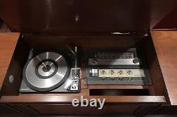 Vintage GE General Electric Mid Century Stereo Cabinet Record Player MCM C524K
