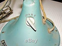 Vintage GE General Electric Oscillating 3 Speed Fan FM12V43 USA NO. 04