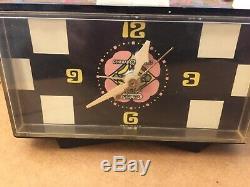 Vintage GE General Electric Peter Max Alarm Clock Pop Art 60s 70s