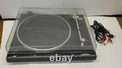 Vintage GE General Electric Quartz Lock Direct Drive Turntable 1TTB5700E P23