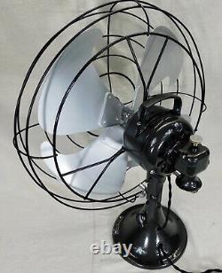 Vintage GE General Electric Vornado Fan. Oscillating 3 Speed. Just Reworked