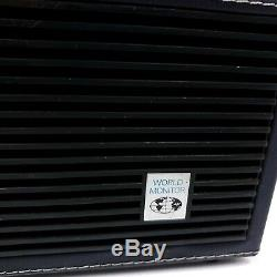 Vintage GE General Electric World Monitor Radio 5 Band Made In Germany For Parts