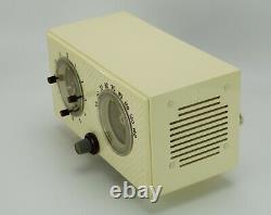 Vintage GE Model 564 Tube Clock AM Radio 1954 Jet Age Excellent Working