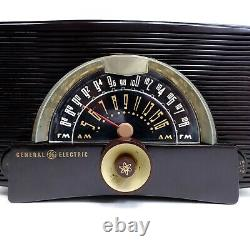Vintage GE Model Atomic 440 Vacuum Tube Radio AM-FM 1951 General Electric