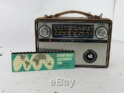 Vintage GE World Monitor P-990A Shortwave Transistor Radio General Electric