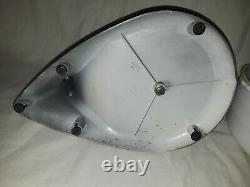 Vintage GENERAL ELECTRIC 1490M7 3 Beater MIXER Glass BOWL Kitchen Stand GE