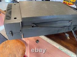 Vintage Ge General Electric Wildcat Portable Record Player Folding