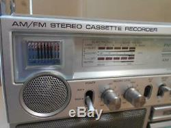 Vintage General Electric 3-5286a Boombox Cassette Player/recorder/radio