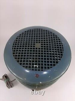 Vintage General Electric Floor Circulator Fan 3 Speed Dual Blade GE Fan