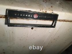 Vintage General Electric Frigidaire Refrigerator and Chest Freezer