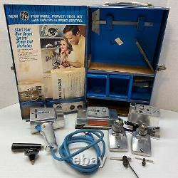 Vintage General Electric GE Portable Power Tool Kit 3 Tools In One