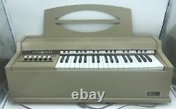 Vintage General Electric GE Youth Electronics Chord Organ No. N3805 Beige WORKS