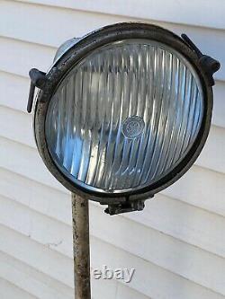 Vintage General Electric Industrial steampunk floor lamp