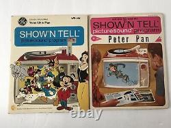 Vintage General Electric Show N Tell Phono Viewer With 10 Stories 60s Read