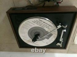Vintage General Electric Stereo Record Player Turntable RD704