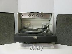 Vintage General Electric Stereo Trimline 500 Portable Phonograph Record Player