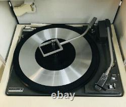 Vintage General Electric Stereo Trimline 500 Portable Record Player works great
