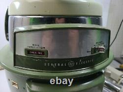 Vintage General Electric Swivel Top Canister Vacuum Cleaner Retro Model VC 850A