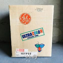 Vintage General Electric Ultra color Picture Tube Model 15YP22 New Old Stock