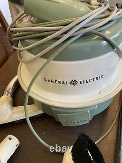Vintage General Electric Vacuum Cleaner Swivel Top Vintage Model VIICIO