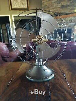 Vintage General Electric Vortalex 10 inch blade 1935 fan Restored