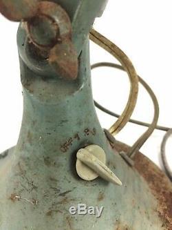 Vintage General Electric Vortalex 3 Speed Oscillating Fan No. 91 Works