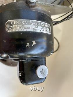Vintage General Electric Vortalex Oscillating 3 Speed Fan Parts or Restoration