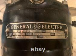 Vintage Industrial General Electric (GE) 4 Blade Fan, 3 Speeds Working