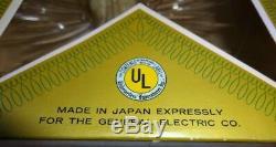 Vintage Merry Midget Angel Tinsel Chrismas Tree Topper Japan General Electric Co