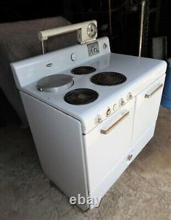 Vintage Mid-Century Frigidaire by General Motors Electric Kitchen Stove Range