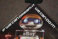 Vintage Rare Disney Epcot Horizons GERO General Electric Robot Poster