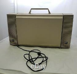 Vintage Solid State GE General Electric Wildcat Portable Record Player Turntable