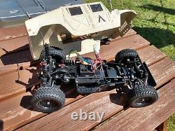 Vintage Tamiya AM GENERAL M1025 HUMMER HUMVEE TA-02, New Build From 1999 + Radio