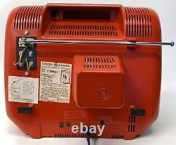 Vintage Television GE General Electric Performance Portable TV 12XB9104T