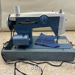 Vintage Universal Super Zigzag Sewing Machine Model Azz Japan