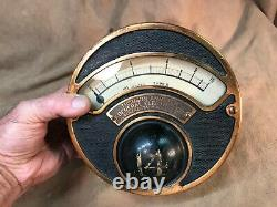 Vintage tested Art Deco Thomson Ammeter General Electric Schenectady New York