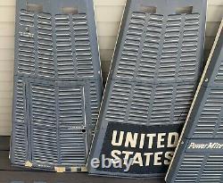 Vtg 1961 GE PowerMite II SPACE CAPSULE Cardboard PLAYSET Mail Away Offer NASA