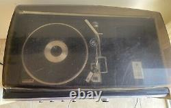 Vtg 1973 GE Stereo Music System Record Player Turntable MCM Space Age Mod Sc7300