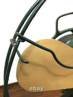 Vtg Antique 12 GE Fan Not working for Repair Brass GENERAL ELECTRIC Emblem