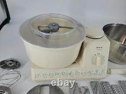 Vtg Bosch Universal MUM6621UC 700W Stand Mixer with Attachments Made in Germany