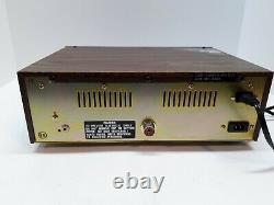Vtg. General Electric CB Transceiver Base Station Model 3-5869A Two-Way Radio