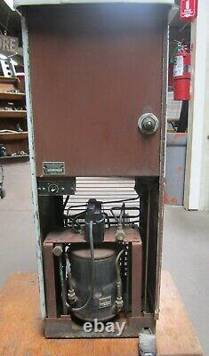 Vtg General Electric GE Industrial Water Cooler Drinking Fountain RS-45-A16