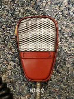 Vtg General Electric Radio Head ISPERN with Microphone Illinois State Police RARE