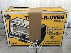 WOW RARE BNIB Vintage GE General Electric Deluxe Toast-R-Oven T93B